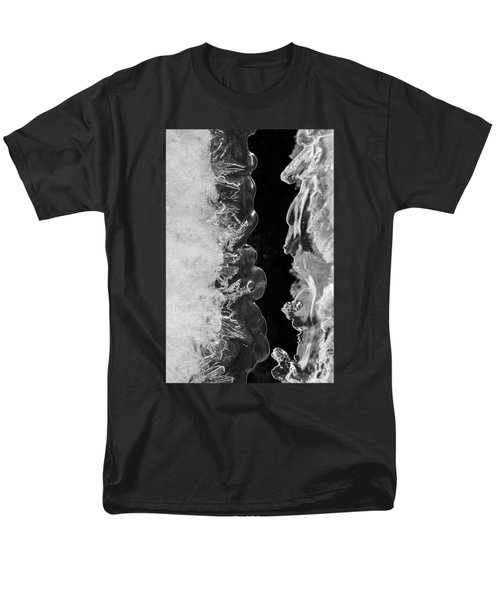 Icy Waves Men's T-Shirt  (Regular Fit) by Konstantin Sevostyanov