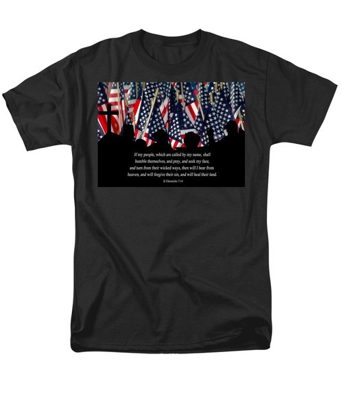 If My People Men's T-Shirt  (Regular Fit) by Carolyn Marshall