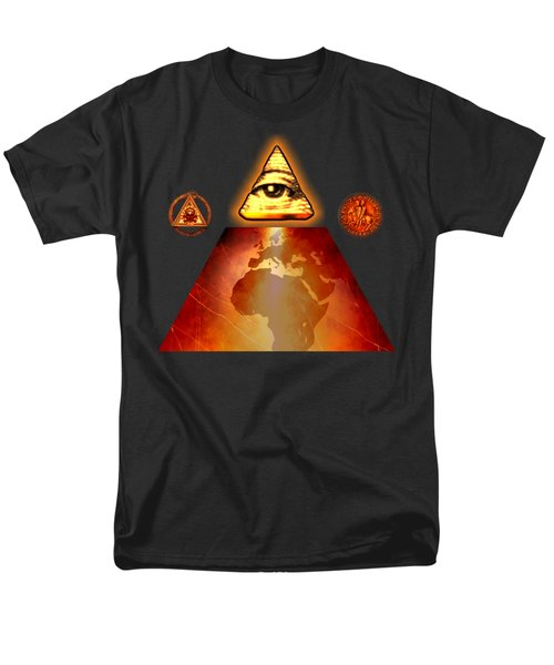 Illuminati World By Pierre Blanchard Men's T-Shirt  (Regular Fit)