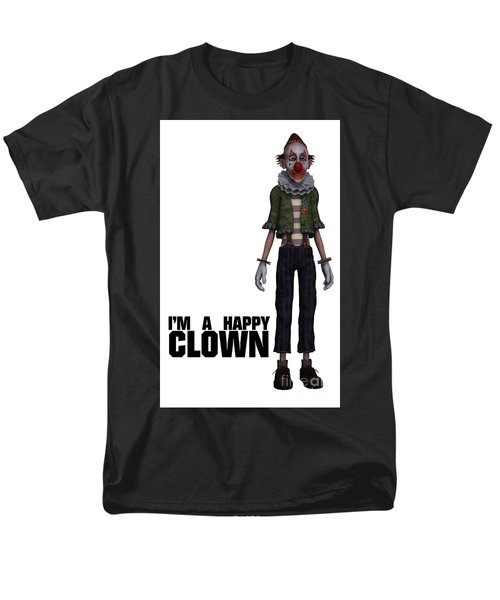 I'm A Happy Clown Men's T-Shirt  (Regular Fit) by Esoterica Art Agency