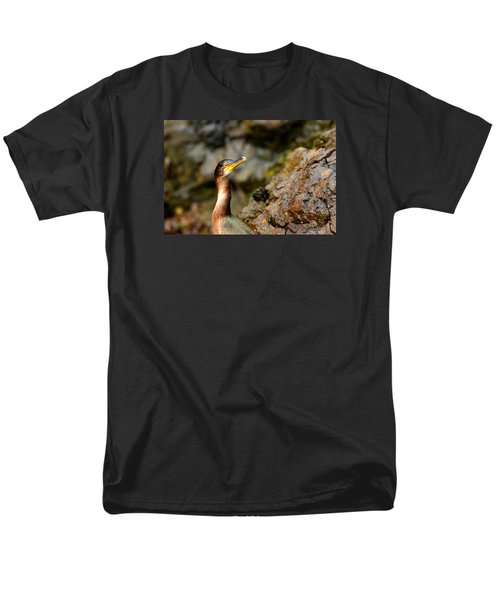 Men's T-Shirt  (Regular Fit) featuring the photograph Immature Shag by Richard Patmore
