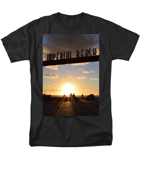 Imperial Beach At Sunset Men's T-Shirt  (Regular Fit) by Karen J Shine