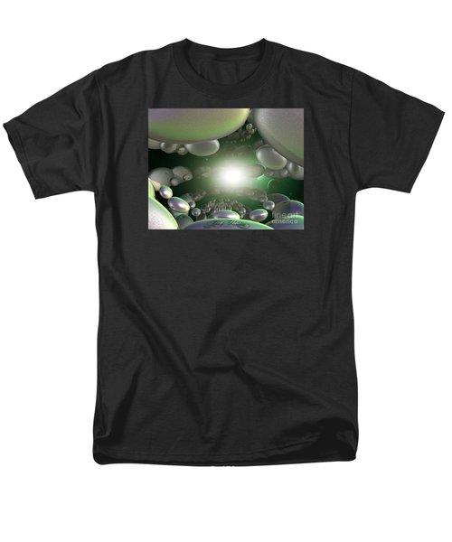 Men's T-Shirt  (Regular Fit) featuring the digital art In A Galaxy Far Far Far Away by Melissa Messick