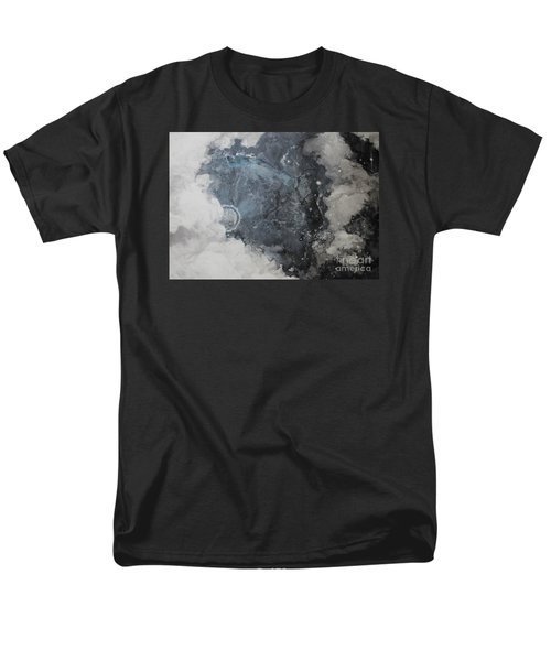 Men's T-Shirt  (Regular Fit) featuring the painting In The Beginning by Elizabeth Carr