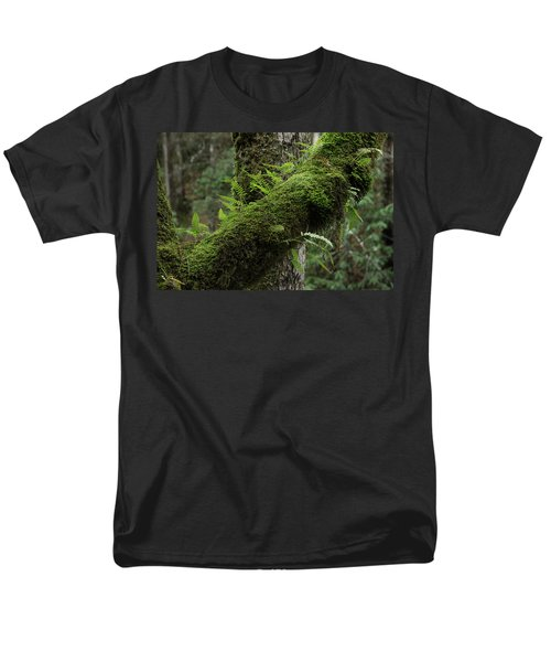 Men's T-Shirt  (Regular Fit) featuring the photograph In The Cool Of The Forest by Mike Eingle