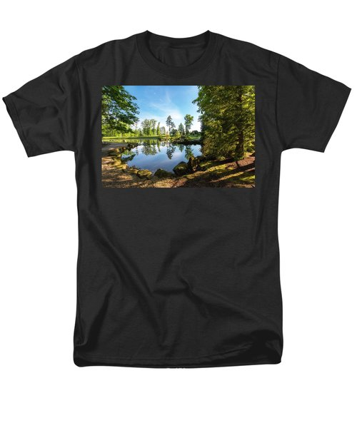 Men's T-Shirt  (Regular Fit) featuring the photograph In The Early Morning Light by Tom Mc Nemar