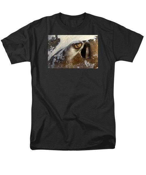 Men's T-Shirt  (Regular Fit) featuring the photograph In The Sand by Aaron Whittemore