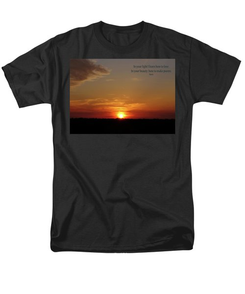 Men's T-Shirt  (Regular Fit) featuring the photograph In Your Light by Rhonda McDougall