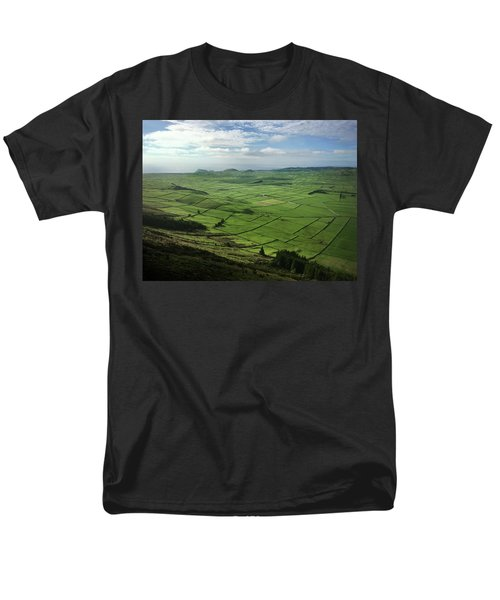 Incide The Bowl Terceira Island, Azores, Portugal Men's T-Shirt  (Regular Fit) by Kelly Hazel