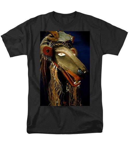 Indian Animal Mask Men's T-Shirt  (Regular Fit) by LeeAnn McLaneGoetz McLaneGoetzStudioLLCcom