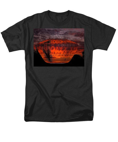 Men's T-Shirt  (Regular Fit) featuring the photograph Indian Summer Sunrise by Joyce Dickens