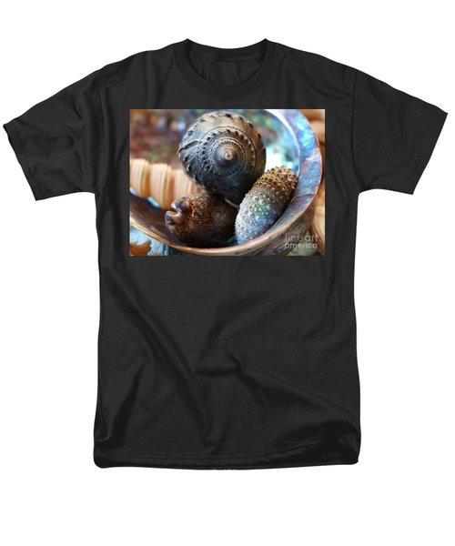 Men's T-Shirt  (Regular Fit) featuring the photograph Inside A Shell by Trena Mara