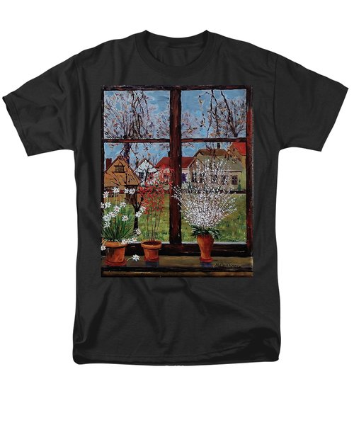 Inside Looking Out Men's T-Shirt  (Regular Fit) by Mike Caitham