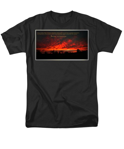 Men's T-Shirt  (Regular Fit) featuring the photograph Inspiration by Joyce Dickens
