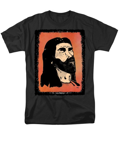 Men's T-Shirt  (Regular Fit) featuring the digital art Inspirational - The Master by Glenn McCarthy Art and Photography