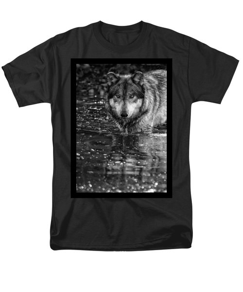 Men's T-Shirt  (Regular Fit) featuring the photograph Intense Reflection by Shari Jardina