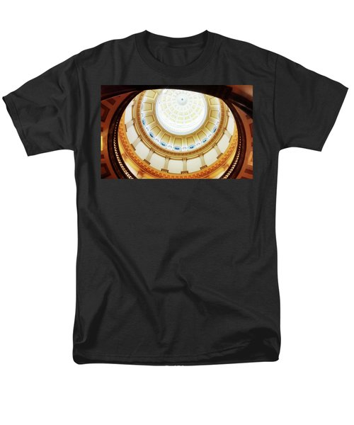 Men's T-Shirt  (Regular Fit) featuring the photograph Interior Denver Capitol by Marilyn Hunt