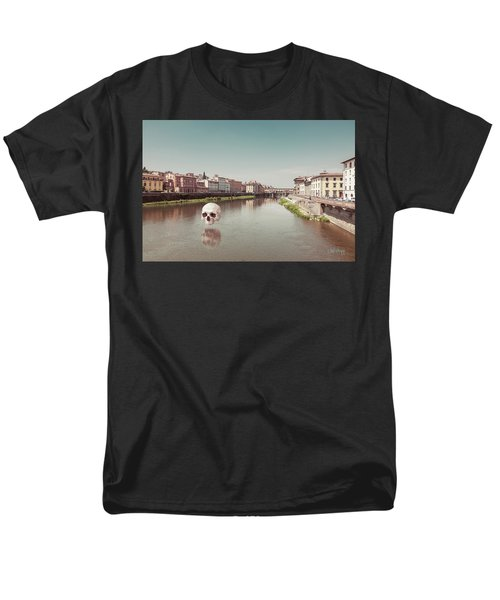Men's T-Shirt  (Regular Fit) featuring the photograph Interloping, Florence by Joseph Westrupp