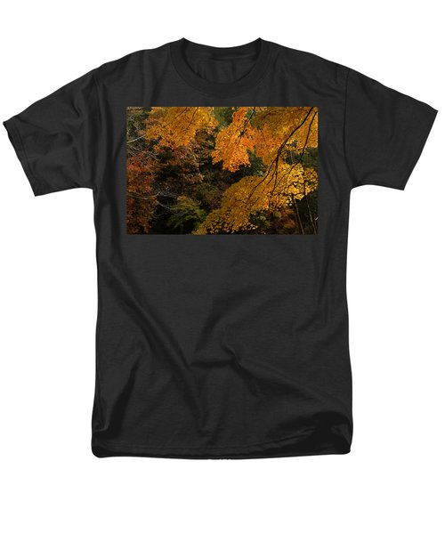 Into The Fall Men's T-Shirt  (Regular Fit) by Michael McGowan