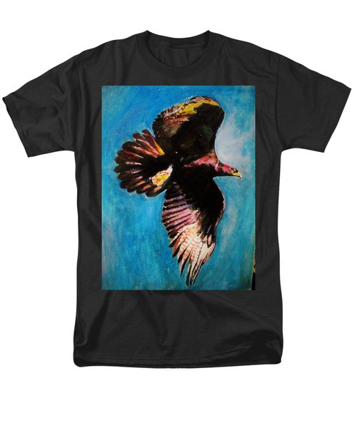 Into The Skies. Men's T-Shirt  (Regular Fit) by Khalid Saeed