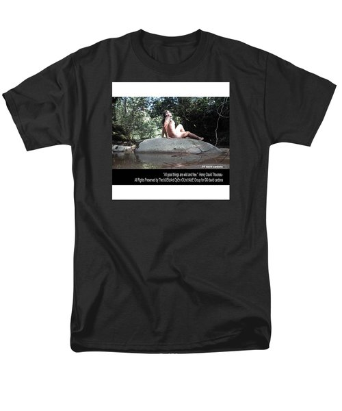 Into The Wild Men's T-Shirt  (Regular Fit) by David Cardona