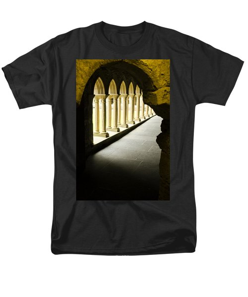 Men's T-Shirt  (Regular Fit) featuring the photograph Iona Abbey Scotdland by Sally Ross