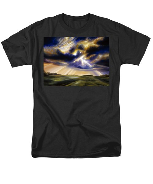 Iowa Storms Men's T-Shirt  (Regular Fit) by James Christopher Hill
