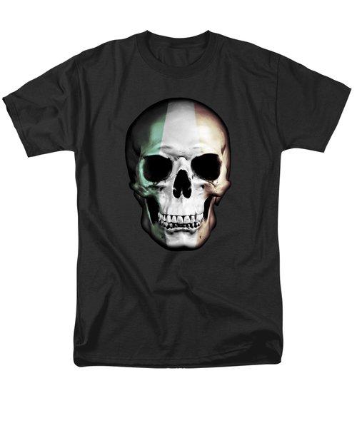Men's T-Shirt  (Regular Fit) featuring the digital art Irish Skull by Nicklas Gustafsson
