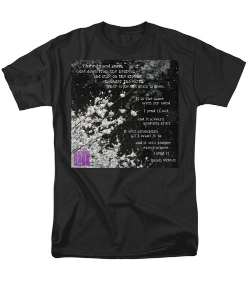 is Anyone Thirsty? Come And Men's T-Shirt  (Regular Fit) by LIFT Women's Ministry designs --by Julie Hurttgam