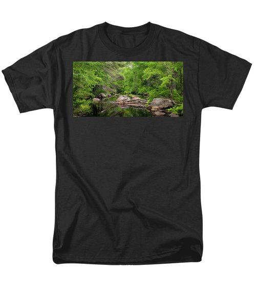 Isinglass River, Barrington, Nh Men's T-Shirt  (Regular Fit) by Betty Denise