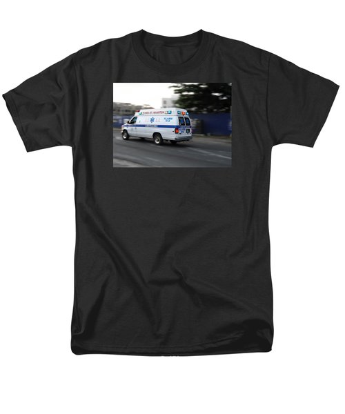 Men's T-Shirt  (Regular Fit) featuring the photograph Island Ambulance by RKAB Works
