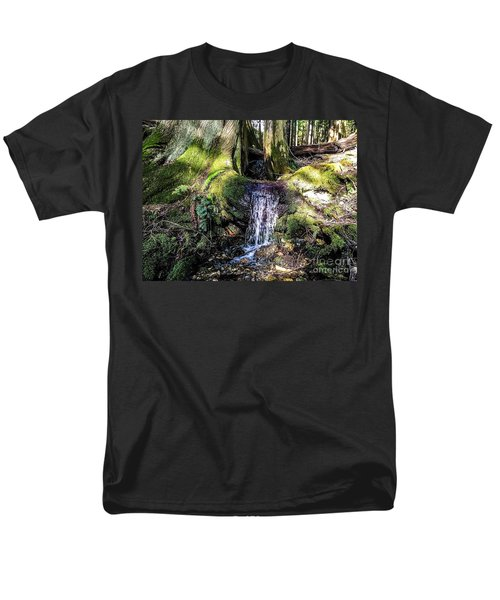 Men's T-Shirt  (Regular Fit) featuring the photograph Island Stream by William Wyckoff