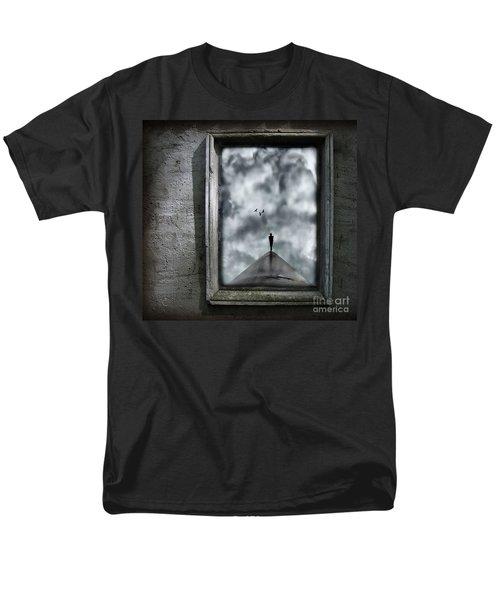 Isolation Men's T-Shirt  (Regular Fit) by Jacky Gerritsen