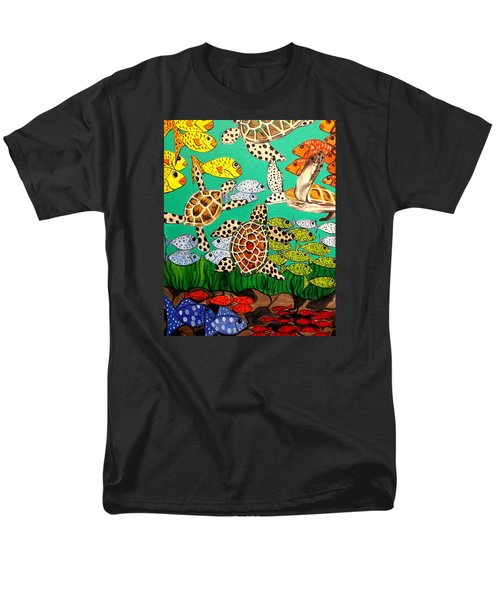 It's Turtle Time Men's T-Shirt  (Regular Fit) by Lisa Aerts