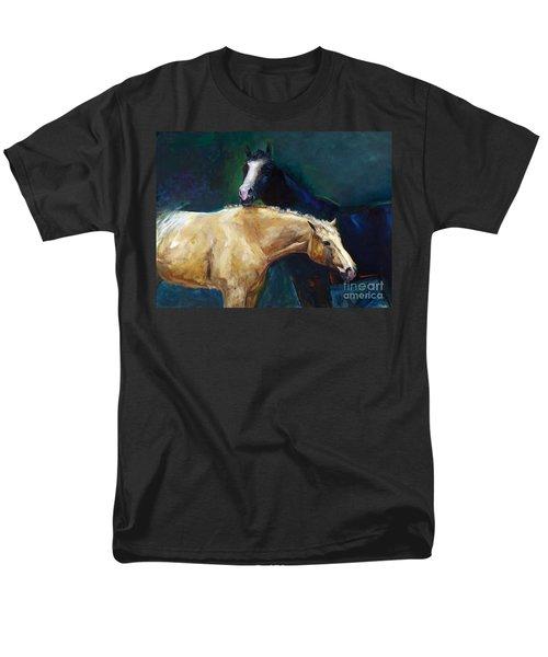 I've Got Your Back Men's T-Shirt  (Regular Fit) by Frances Marino