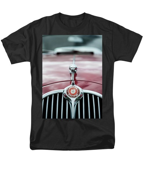 Jaguar Grille Men's T-Shirt  (Regular Fit) by Helen Northcott