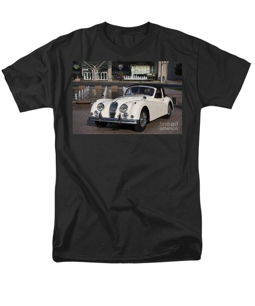Jaguar Xk 140 Men's T-Shirt  (Regular Fit) by Dennis Hedberg