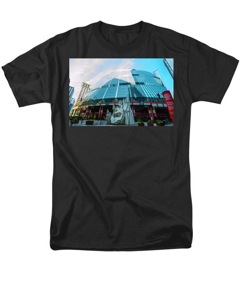 Men's T-Shirt  (Regular Fit) featuring the photograph James R. Thompson Center Chicago by Deborah Smolinske