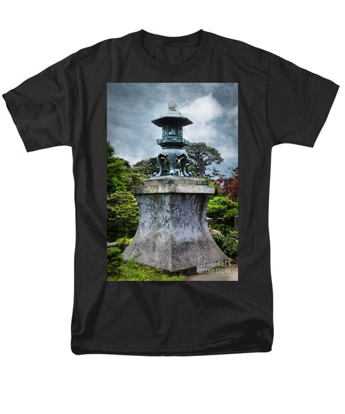 Japanese Garden Men's T-Shirt  (Regular Fit) by Judy Wolinsky