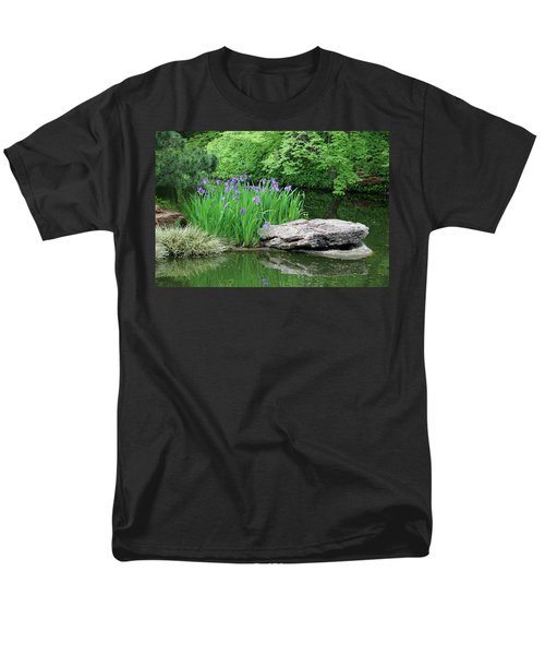 Japanese Gardens - Spring 02 Men's T-Shirt  (Regular Fit) by Pamela Critchlow