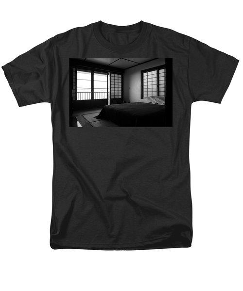 Japanese Style Room At Manago Hotel Men's T-Shirt  (Regular Fit) by Lori Seaman