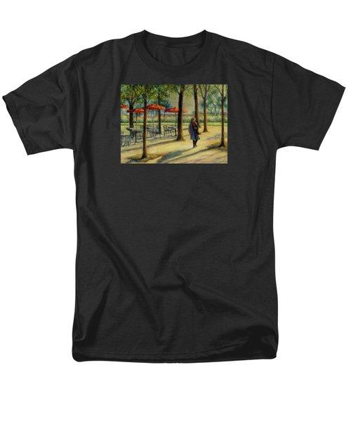 Jardin Des Tuileries In October Men's T-Shirt  (Regular Fit)
