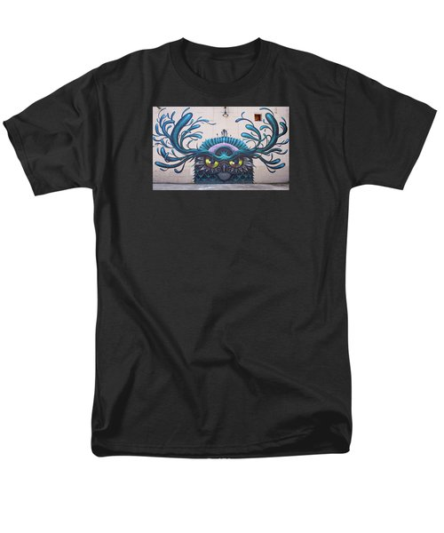 Jeff Soto Mural Men's T-Shirt  (Regular Fit) by Jean Haynes
