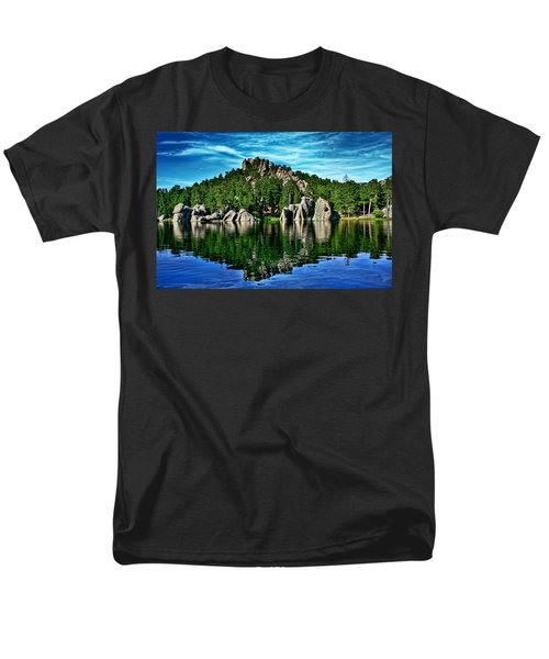 Jewel Of The Black Hills Men's T-Shirt  (Regular Fit) by Ellen Heaverlo