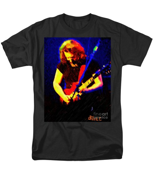 Men's T-Shirt  (Regular Fit) featuring the photograph Stella Blue by Susan Carella