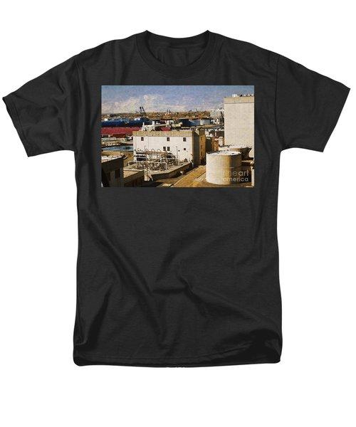 Jones Island Men's T-Shirt  (Regular Fit) by David Blank