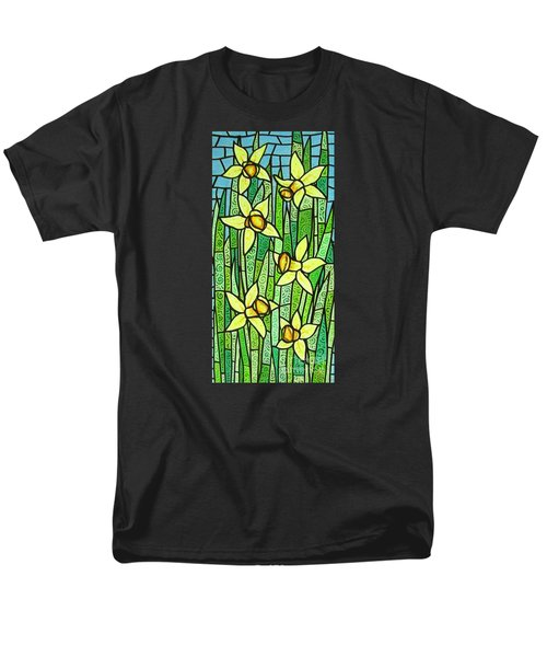 Men's T-Shirt  (Regular Fit) featuring the painting Jonquil Glory by Jim Harris