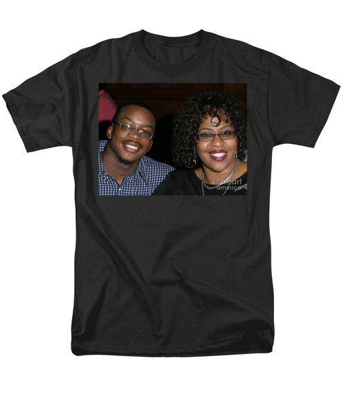 Josh And His Mom Men's T-Shirt  (Regular Fit) by Angela L Walker