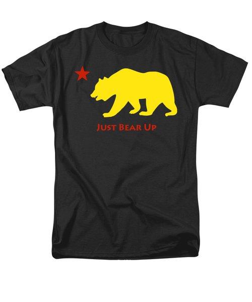 Just Bear Up Men's T-Shirt  (Regular Fit) by Jim Pavelle