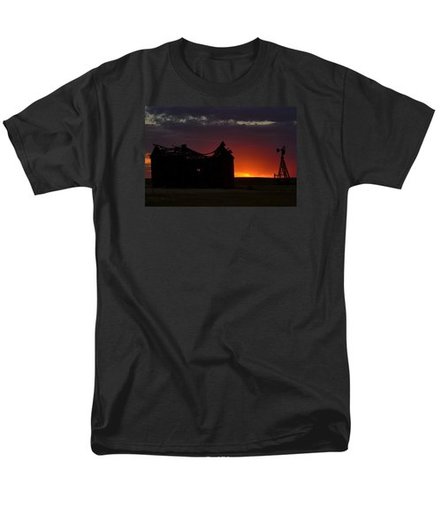 Men's T-Shirt  (Regular Fit) featuring the photograph Just Before Sunrise by Clarice  Lakota
